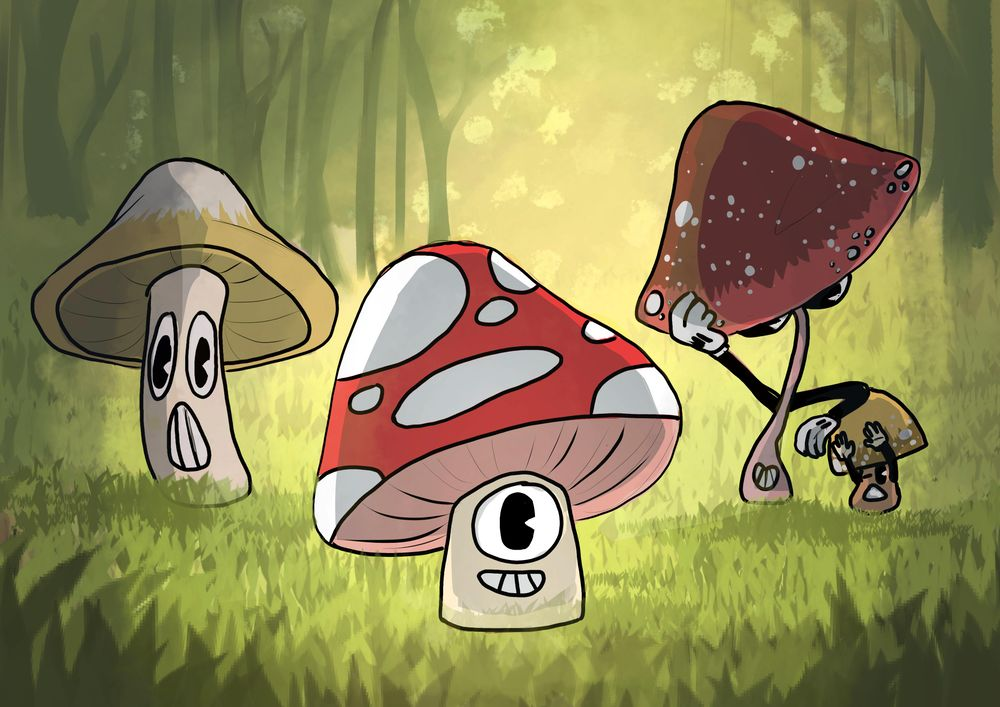 The mushrooms - image 6 - student project