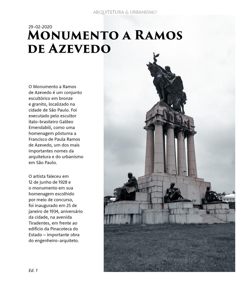 Revista Arquitetura & Urbanismo - image 1 - student project