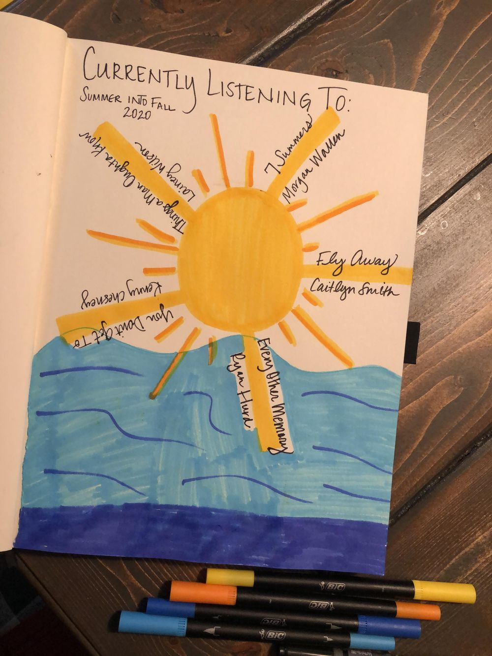 Illustrated Journaling -14 days of prompts..... - image 3 - student project