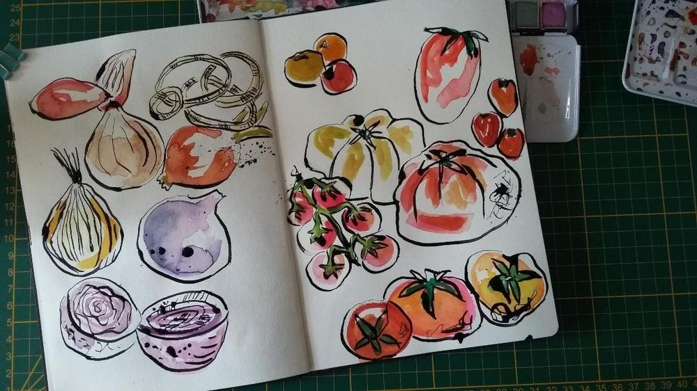 Sketchbook Practice : Create Freely with Ink and Watercolor - image 3 - student project