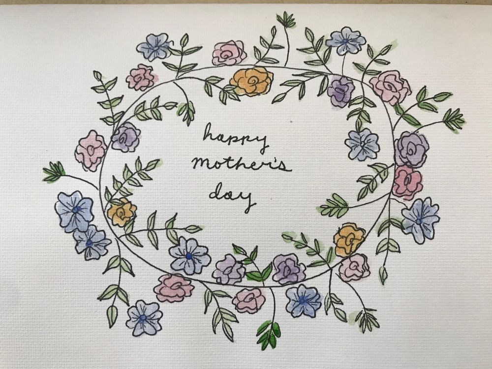 Mother's Day Card - image 1 - student project