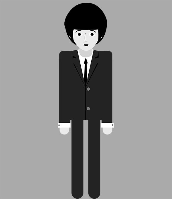 AE character animation: The Beatles - image 2 - student project