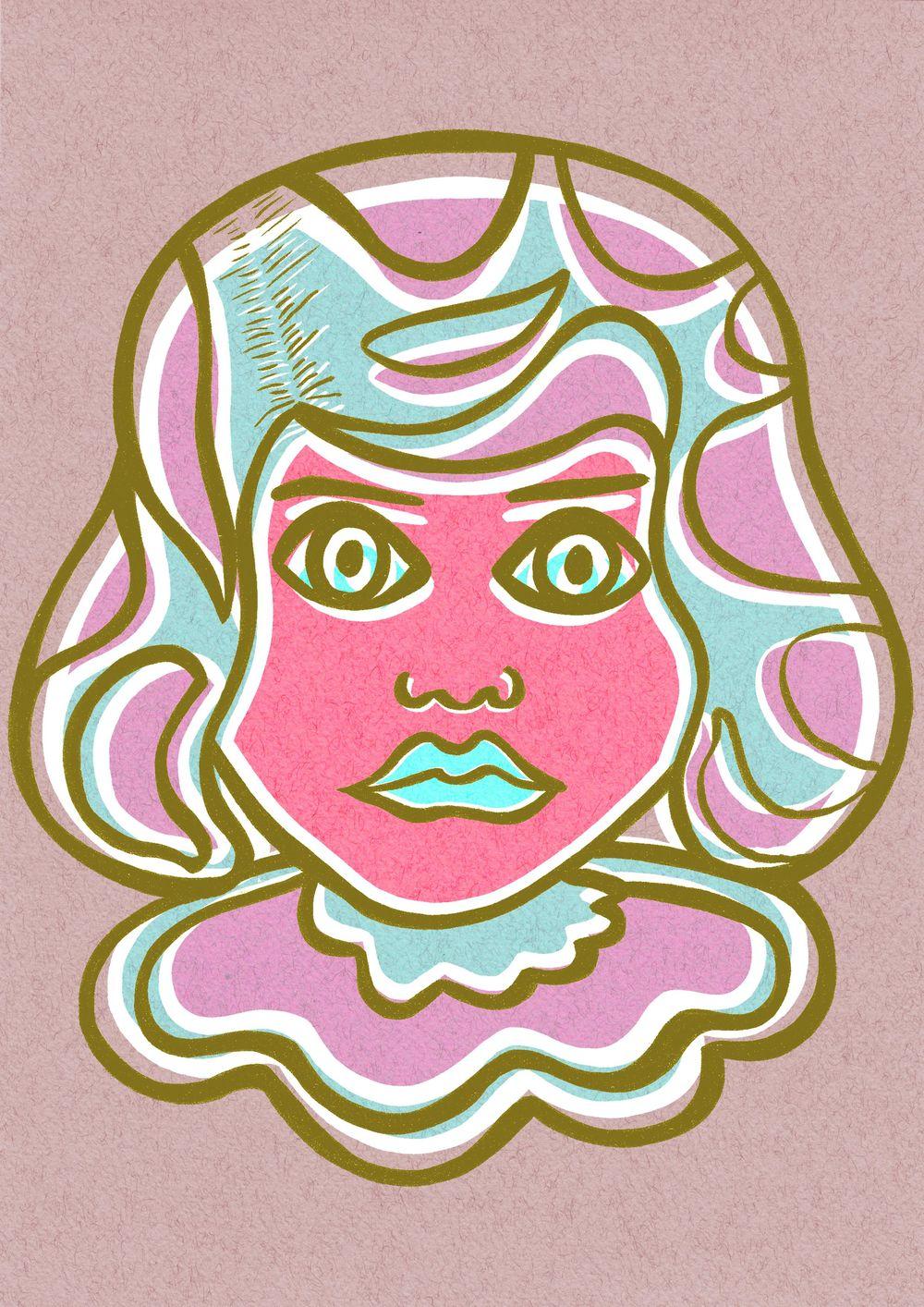 Pop art Girl - image 5 - student project