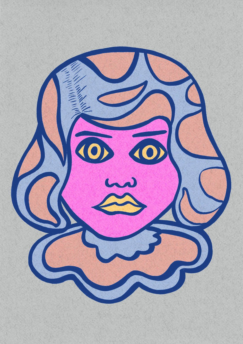 Pop art Girl - image 2 - student project