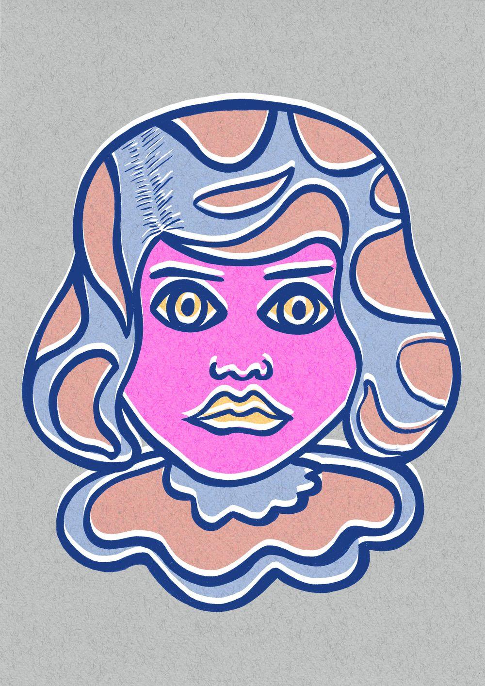 Pop art Girl - image 3 - student project