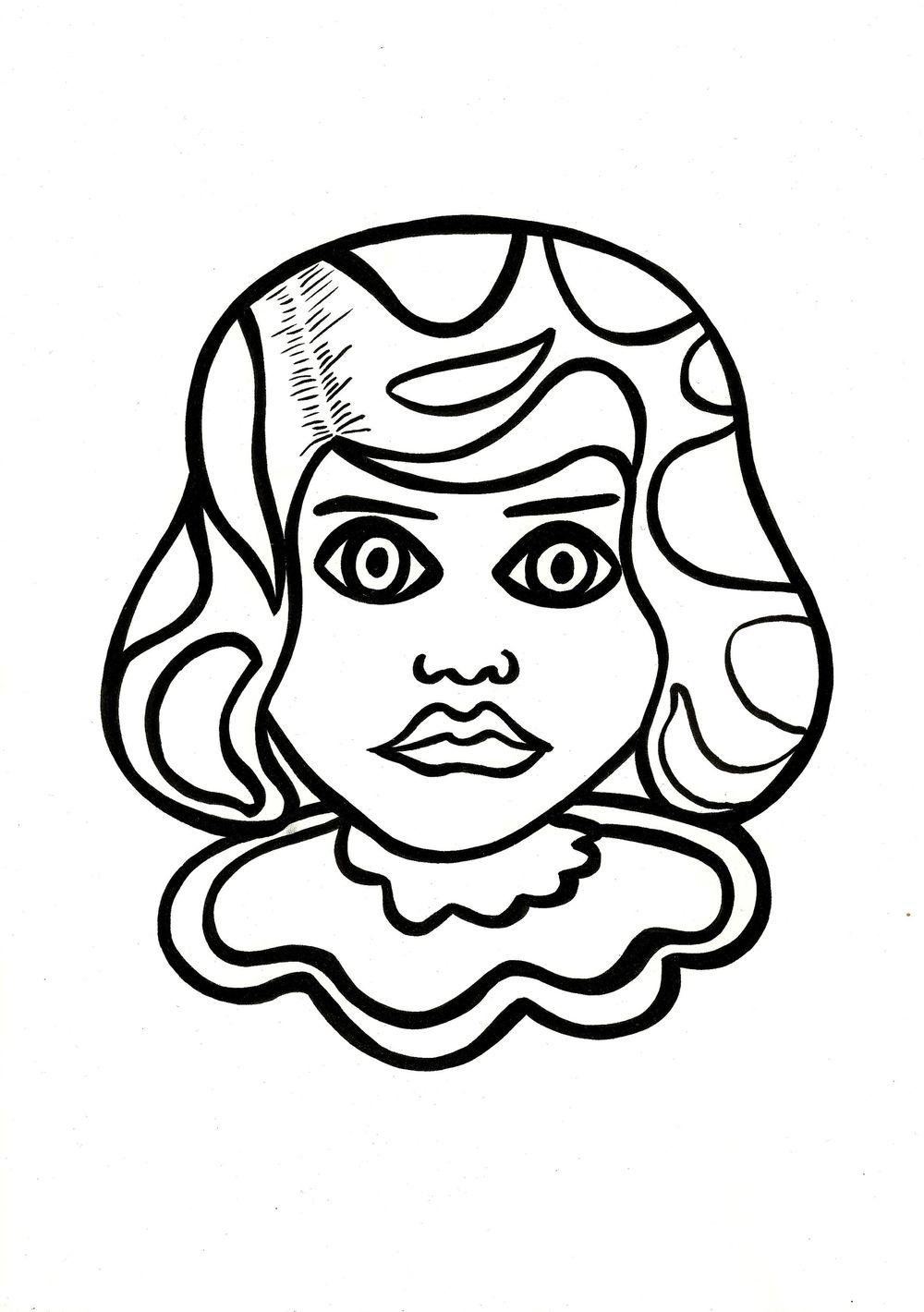 Pop art Girl - image 1 - student project