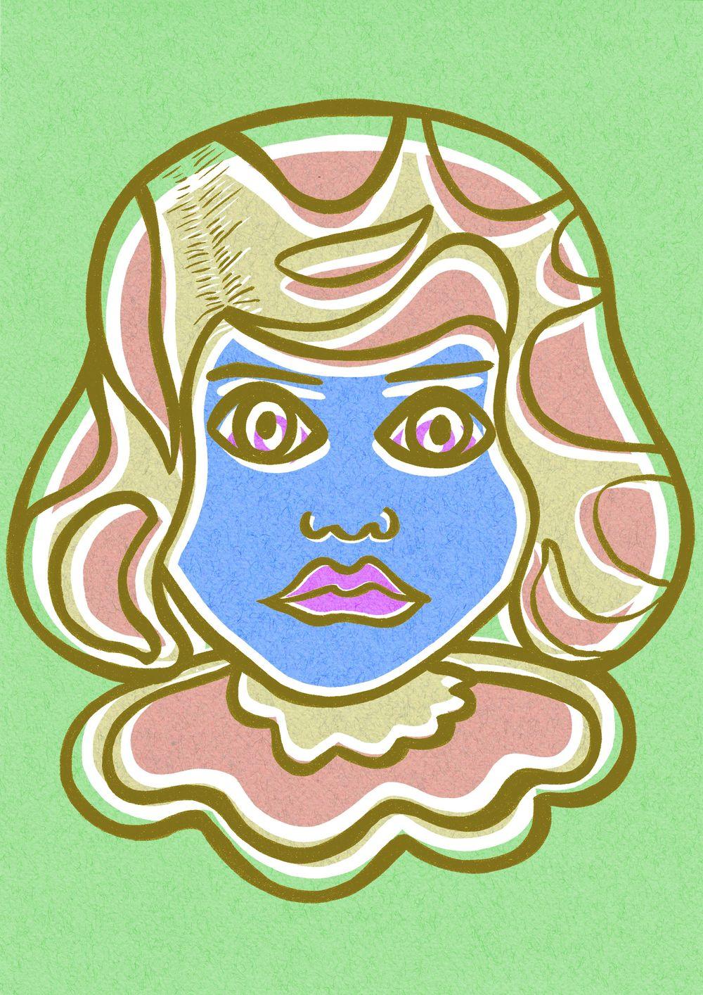 Pop art Girl - image 6 - student project