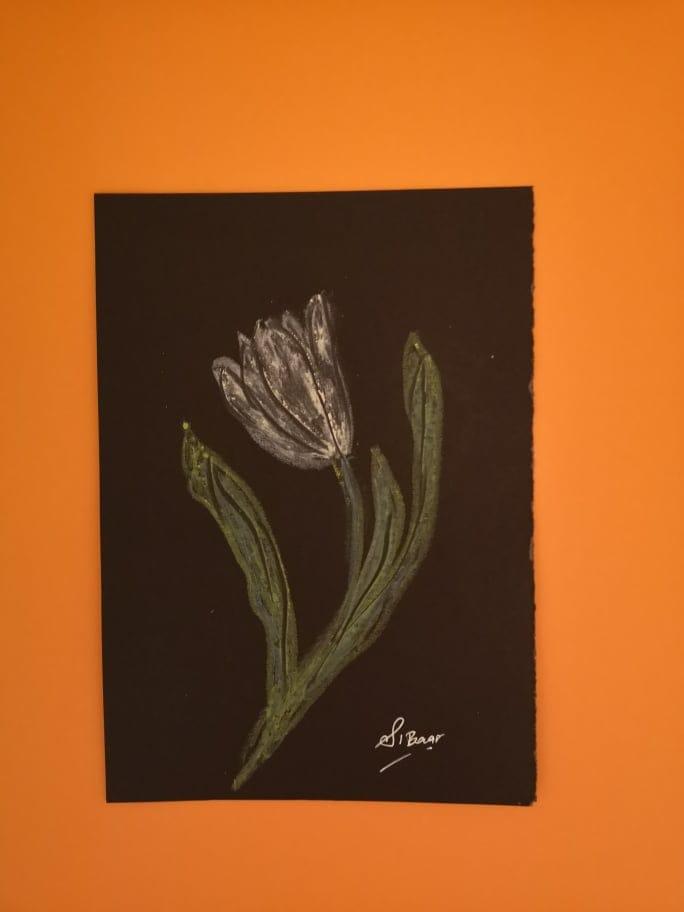 Tulipan oljni pasteli - image 1 - student project