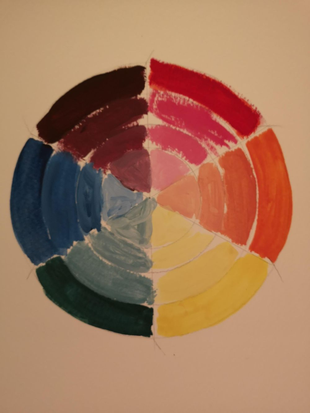 Osnove olje/akril - image 2 - student project