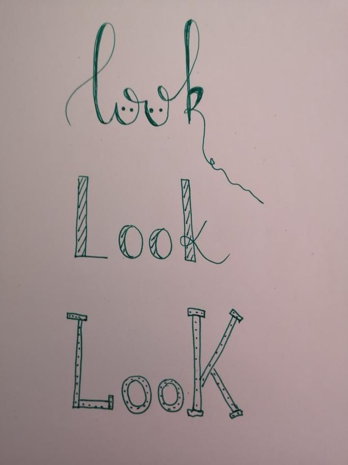 Lettering - image 1 - student project