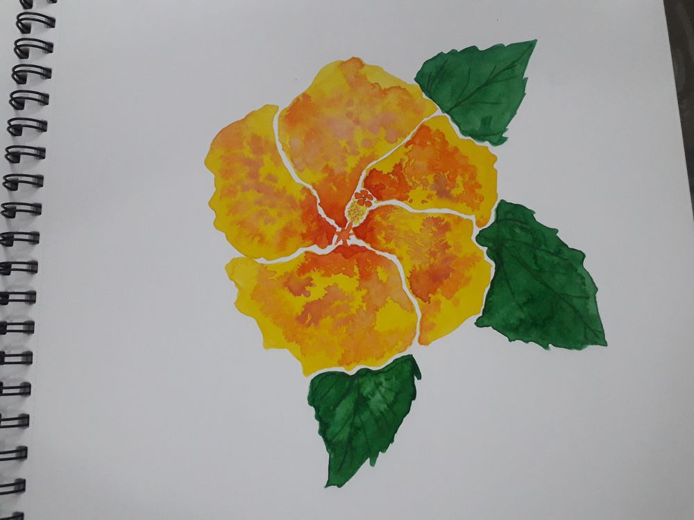 Botanical Watercolors with a Modern Twist - image 4 - student project