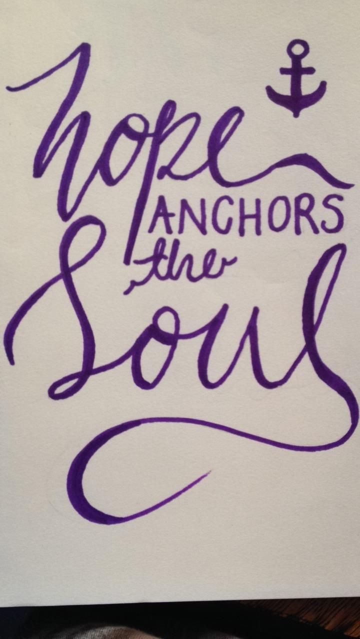 Hope Anchors The Soul - image 1 - student project