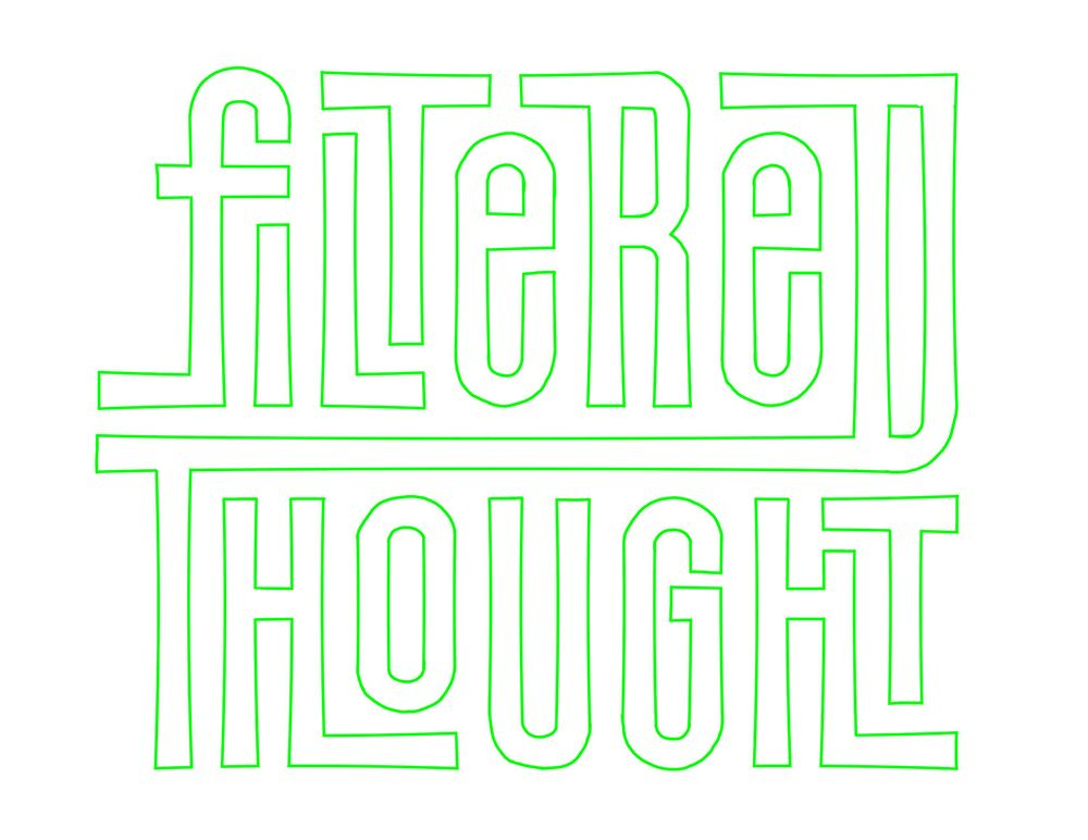 Filtered Thought Logo Concept - image 3 - student project