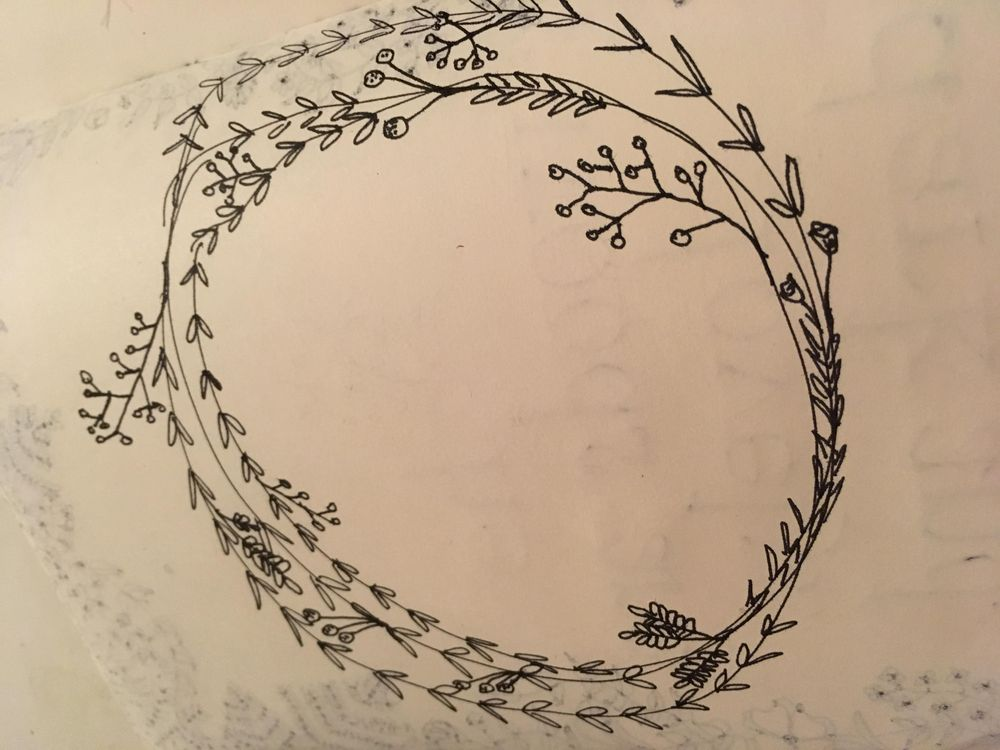 Botanical Line Drawings - image 1 - student project