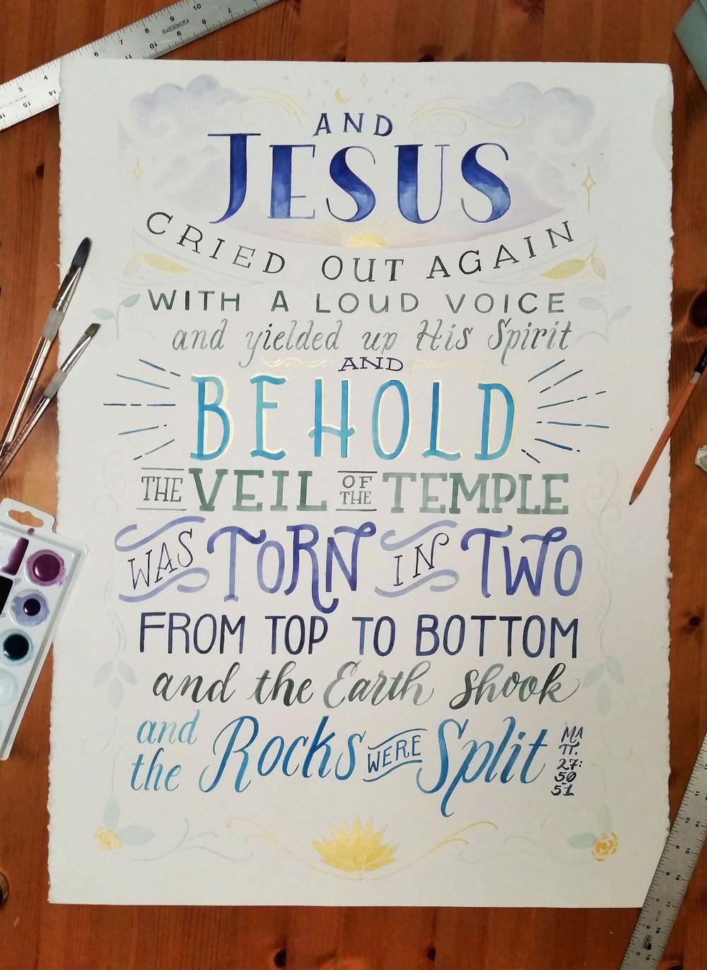 Matthew 27:50-51 - image 1 - student project