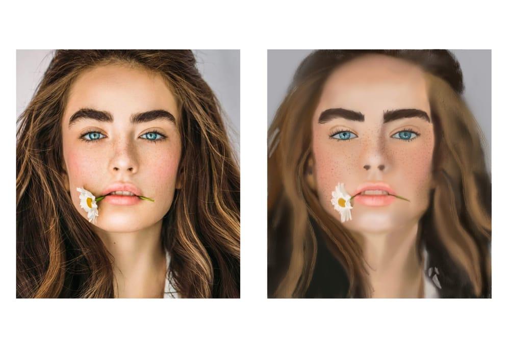 Procreate Portrait - image 1 - student project