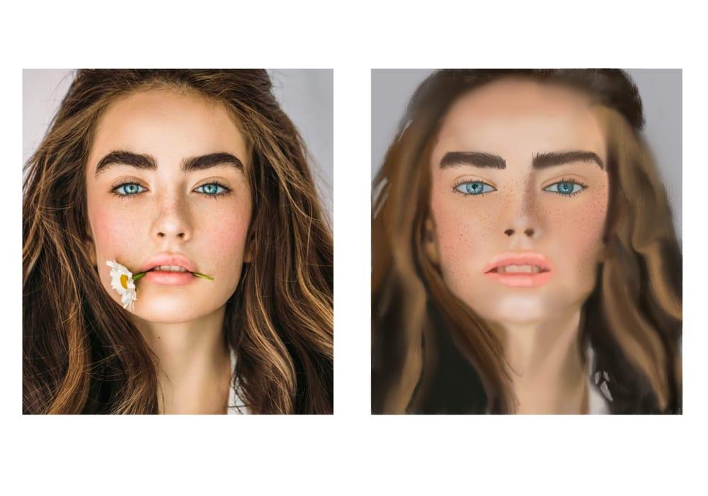 Procreate Portrait - image 2 - student project