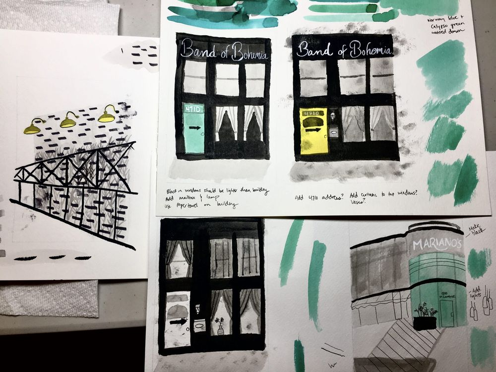 Ravenswood in Ink - image 7 - student project