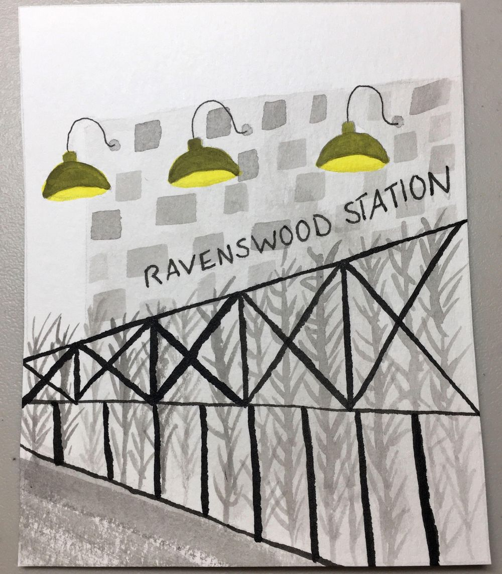 Ravenswood in Ink - image 8 - student project