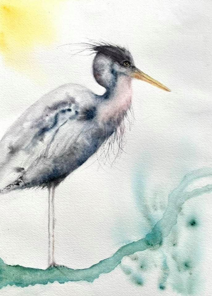 Mr. Heron - image 1 - student project