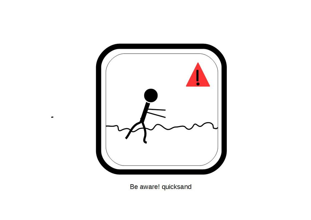 Be Aware!! QUICKSAND! - image 1 - student project