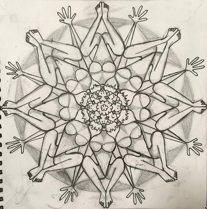 Understanding Mandala - image 1 - student project