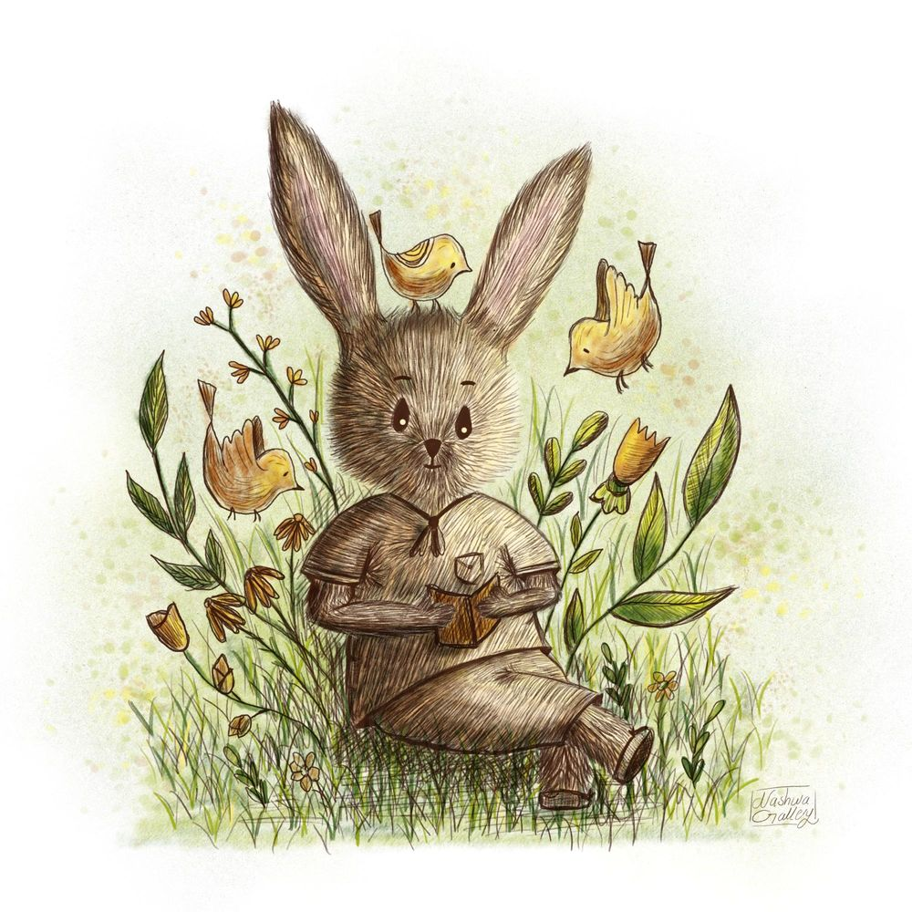 A bookworm Bunny - image 9 - student project