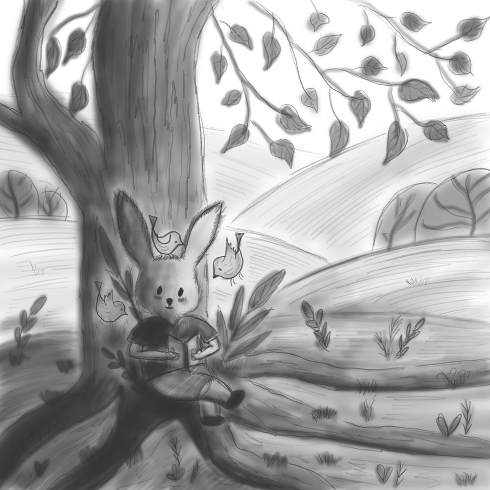 A bookworm Bunny - image 7 - student project