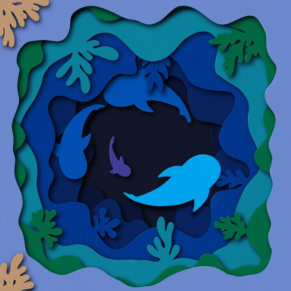 Paper cut out art - image 1 - student project