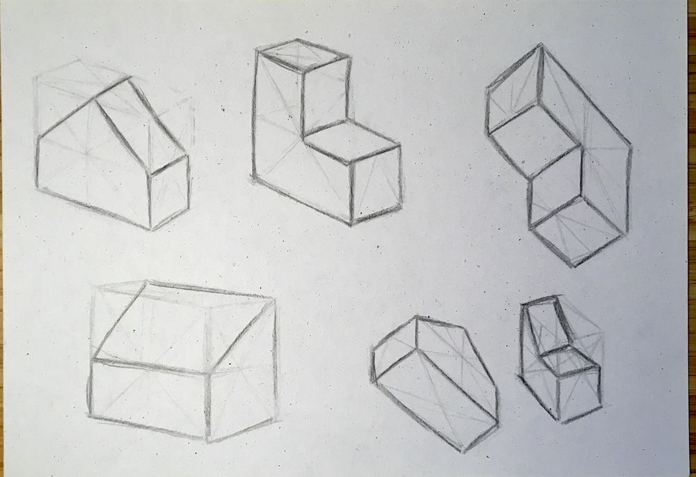 Boxes - different angles - image 2 - student project