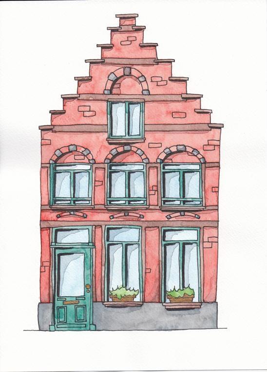 Eekhoutstraat in Bruges - image 2 - student project