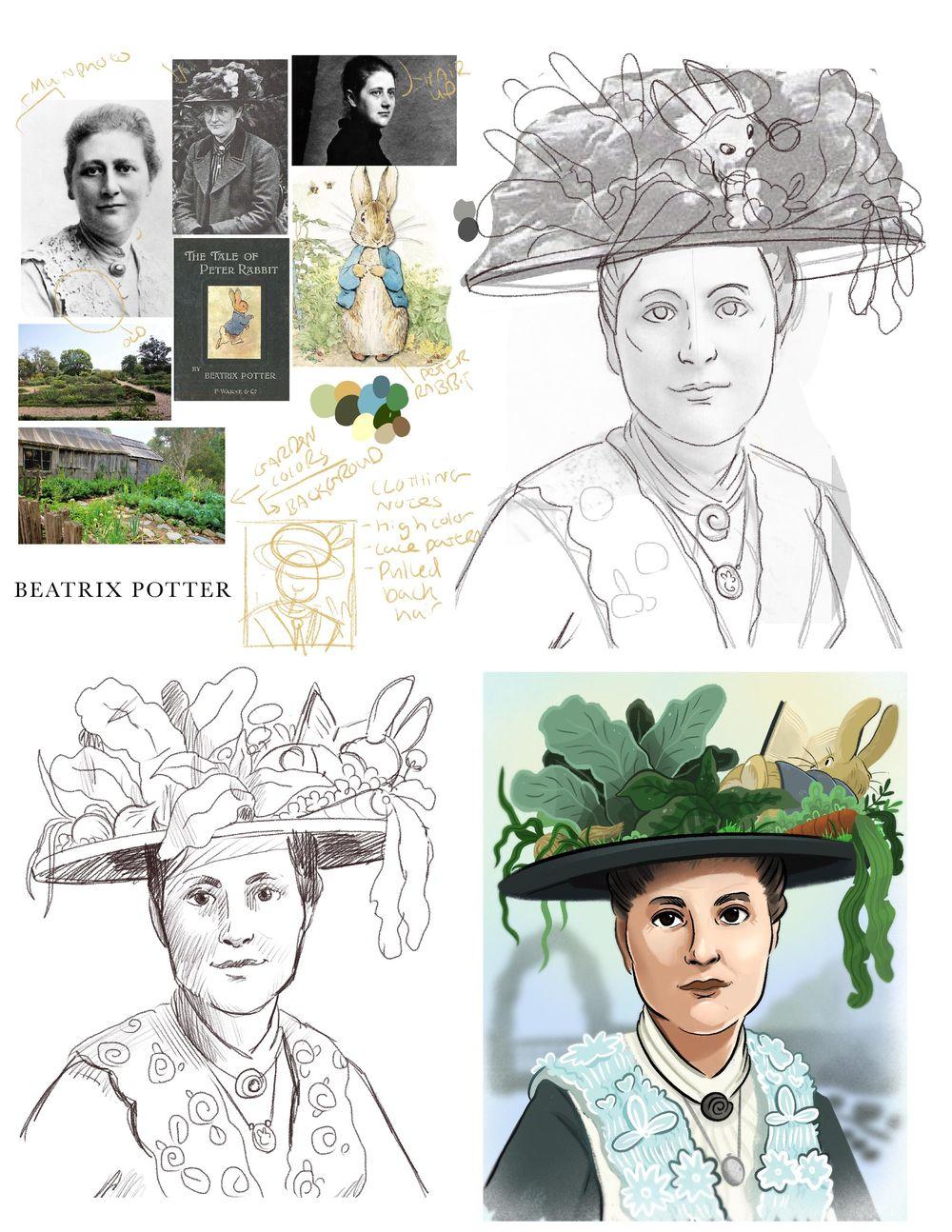 Beatrix Potter - image 2 - student project