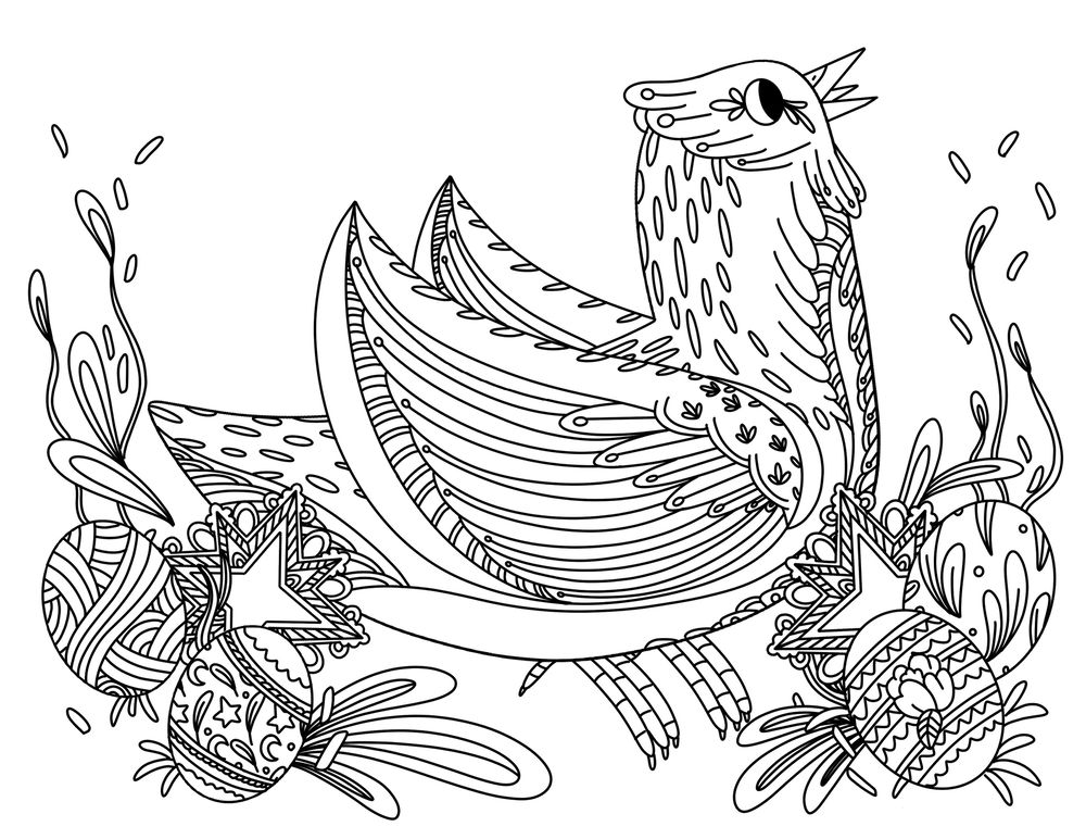 iPad coloring book line art - image 2 - student project
