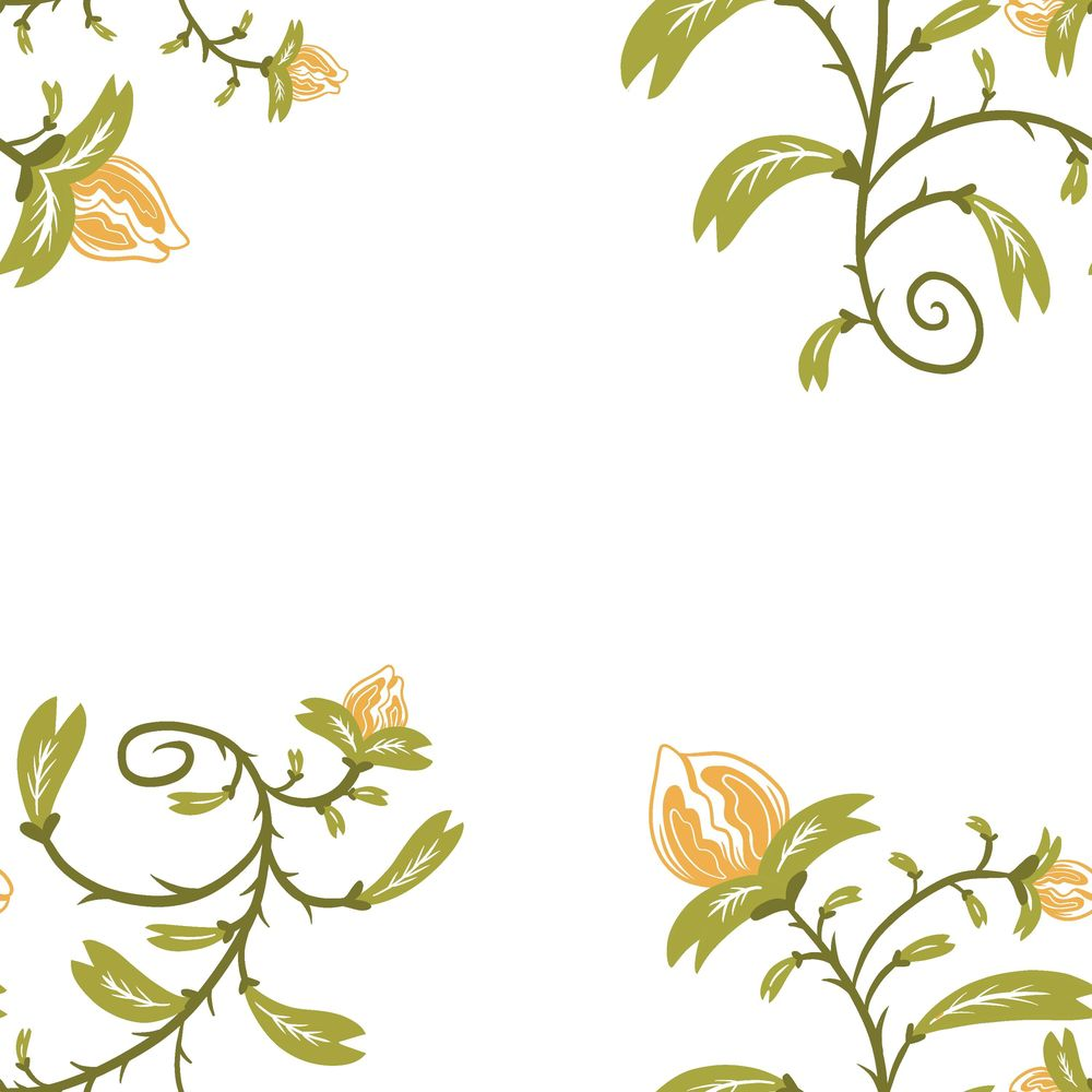 Repeating Flower Pattern Design - image 3 - student project