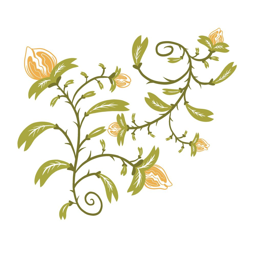 Repeating Flower Pattern Design - image 2 - student project