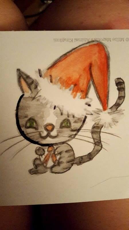 updated xmas Cat - image 1 - student project