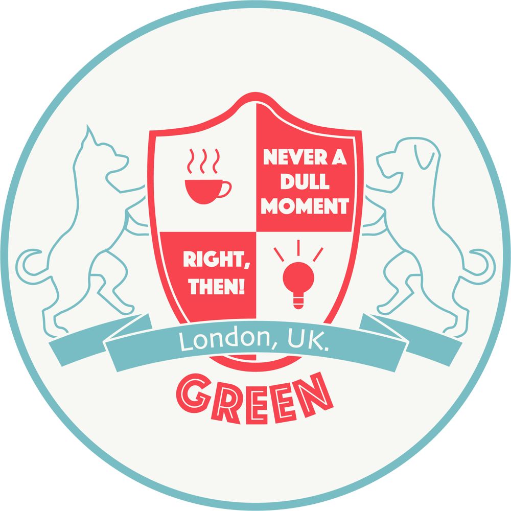 Green Family Crest - image 2 - student project