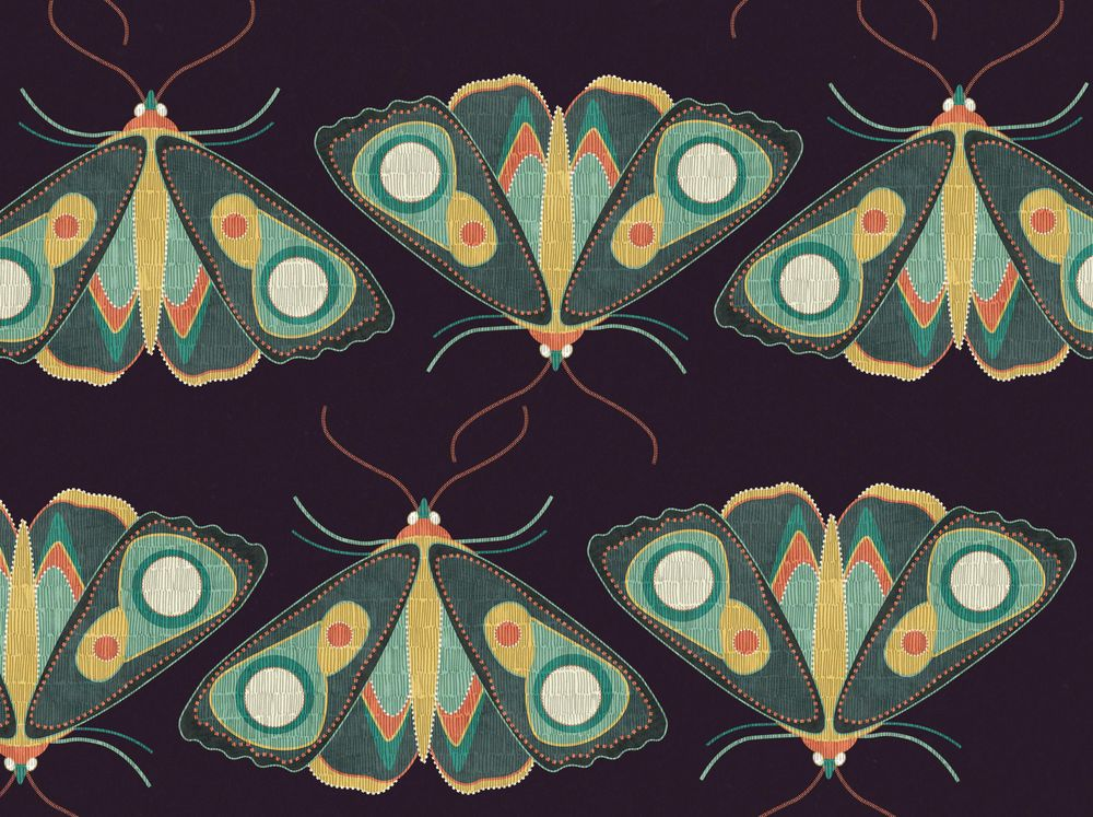 Pattern W.I.P + Moths - image 3 - student project
