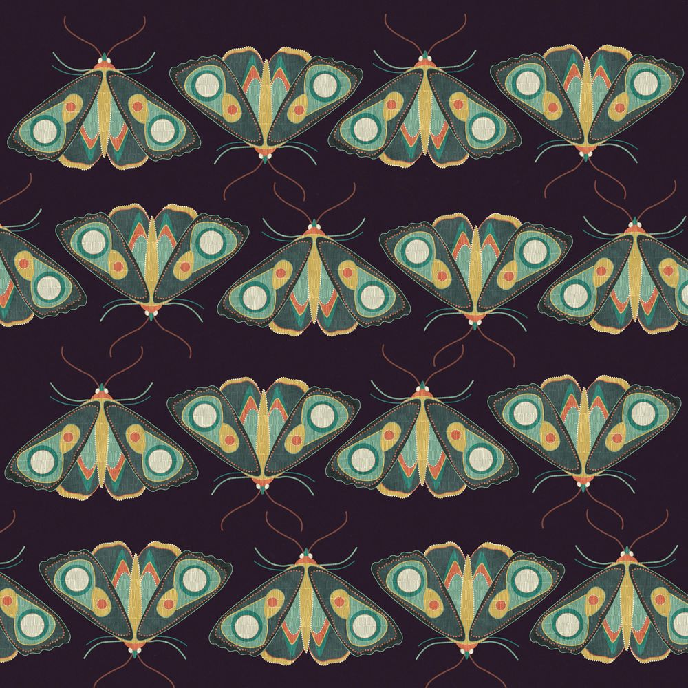 Pattern W.I.P + Moths - image 2 - student project