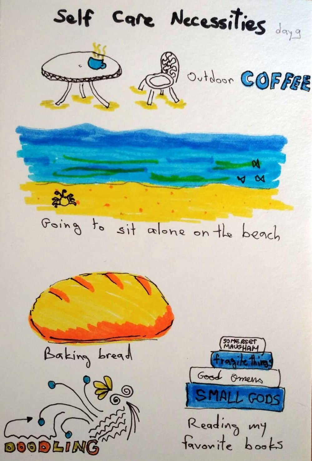 Illustrated Journaling - image 9 - student project