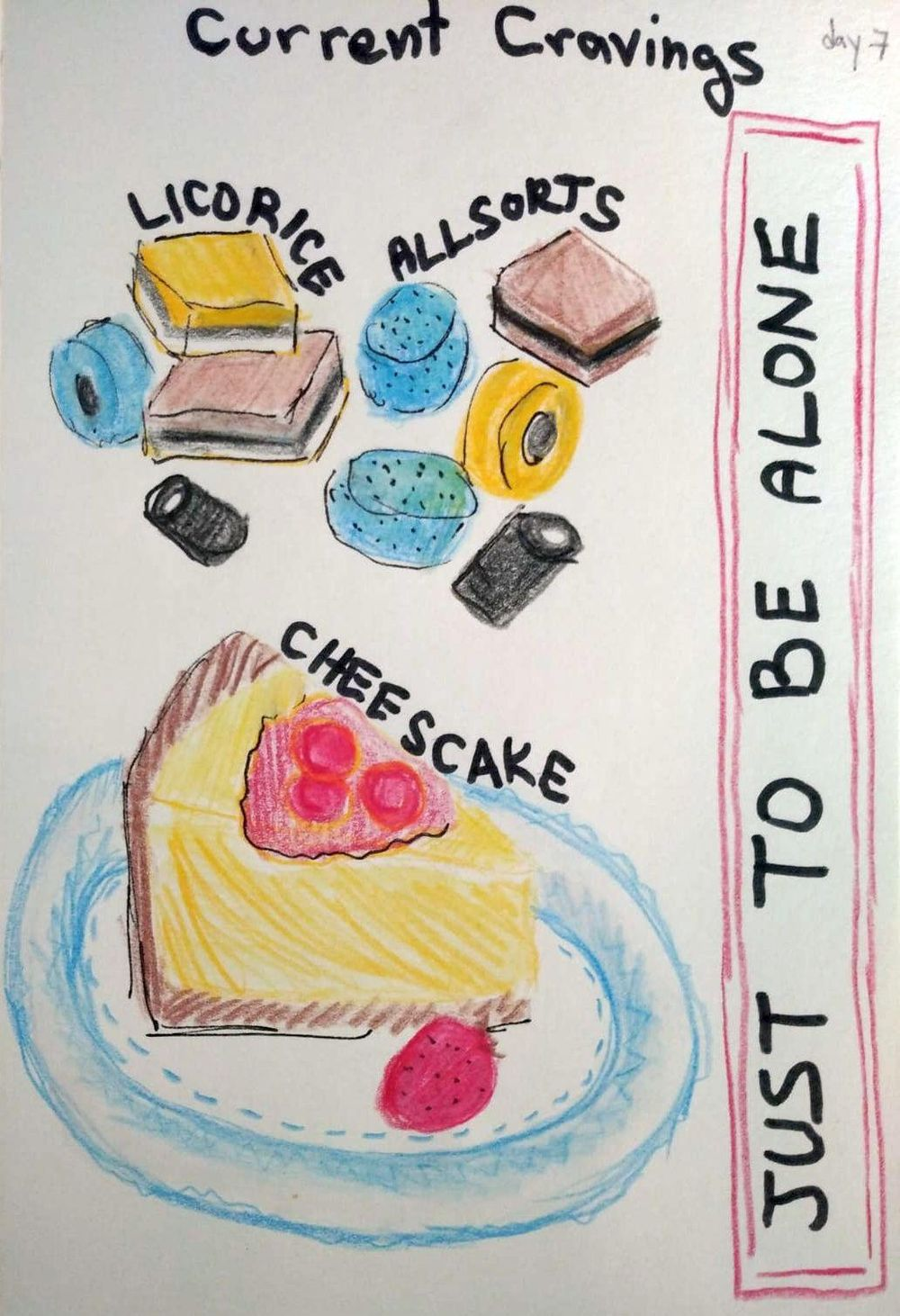 Illustrated Journaling - image 7 - student project