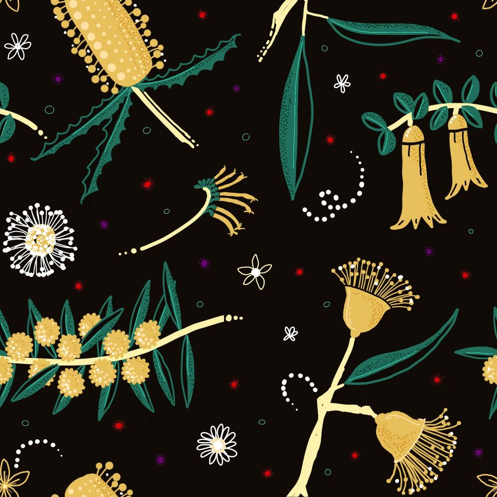 Patterns and Pattern Brushes with Procreate - image 3 - student project