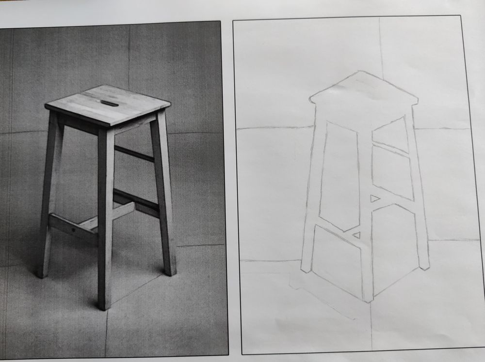 Drawing exercises - image 2 - student project