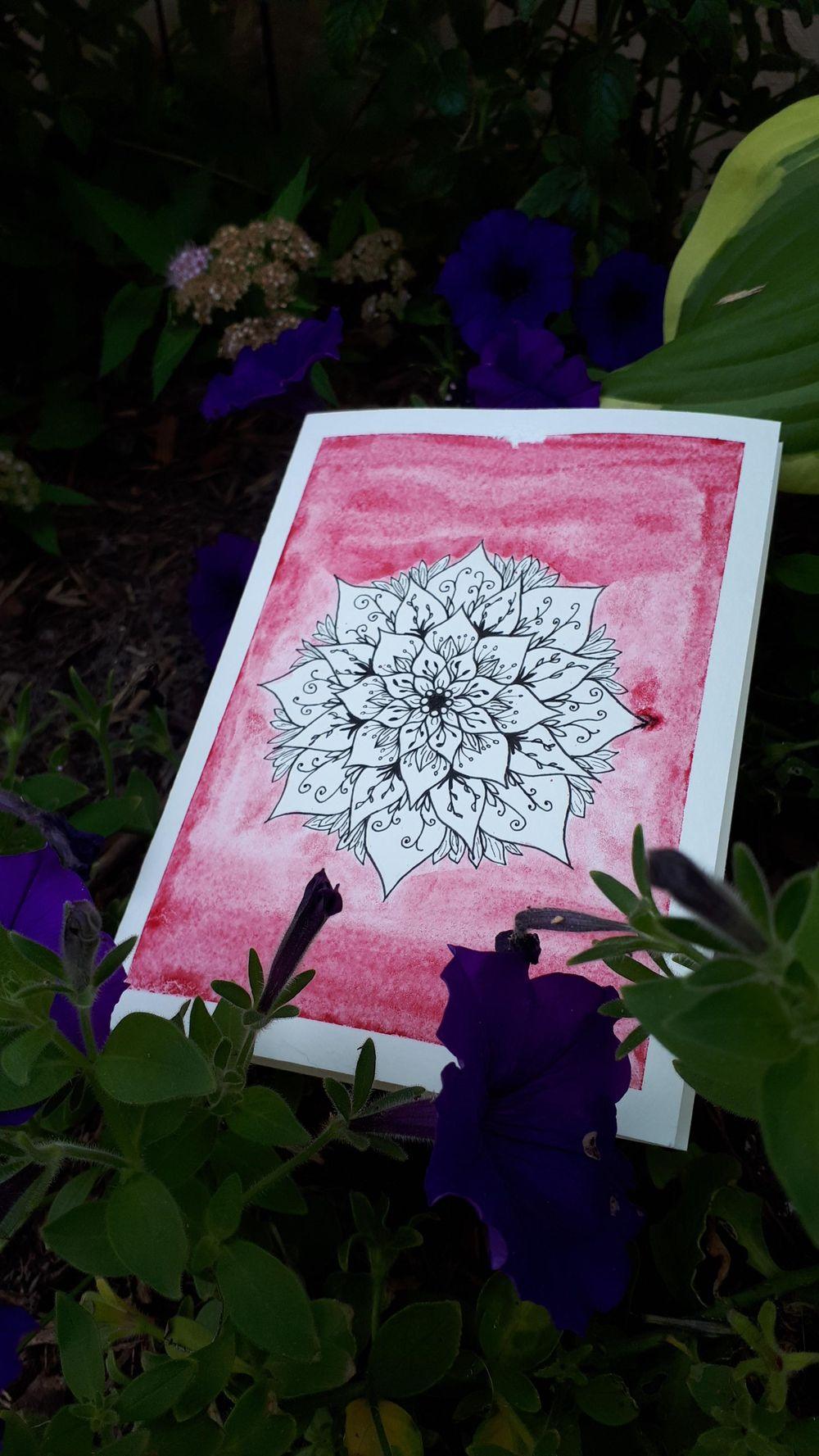 Creating a Mandala - image 1 - student project
