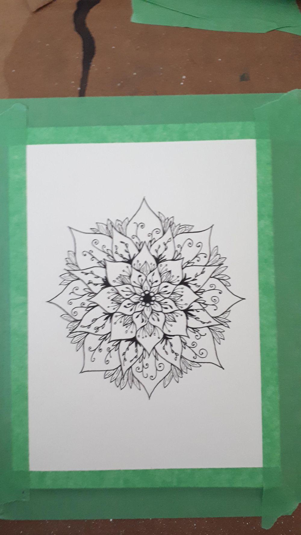 Creating a Mandala - image 3 - student project