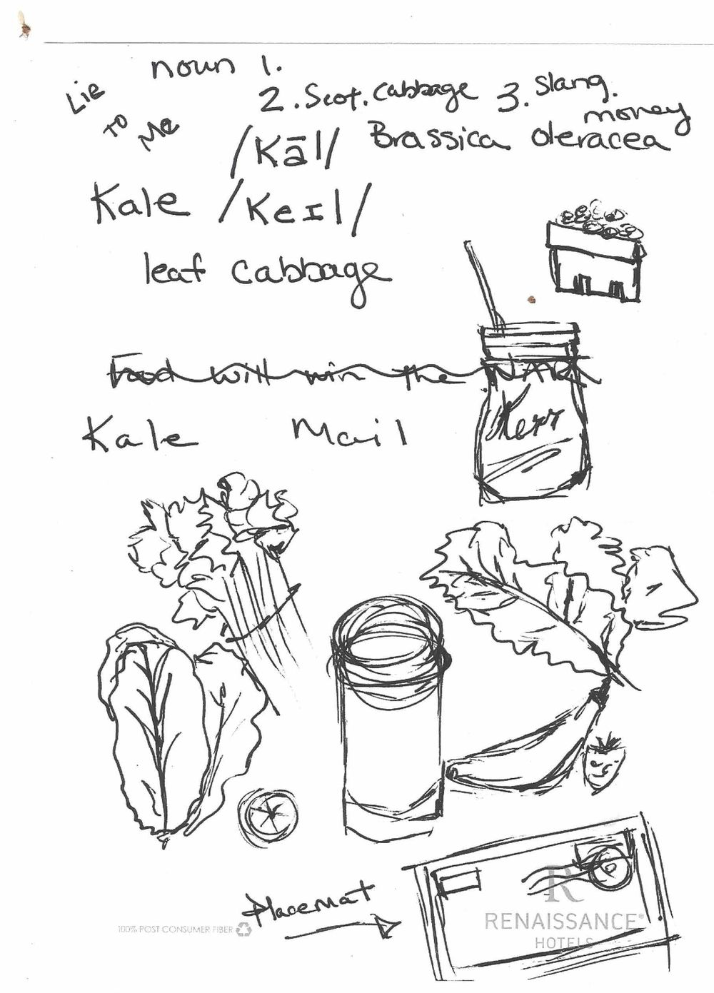 """""""oh Kale, YEAH!' - image 3 - student project"""