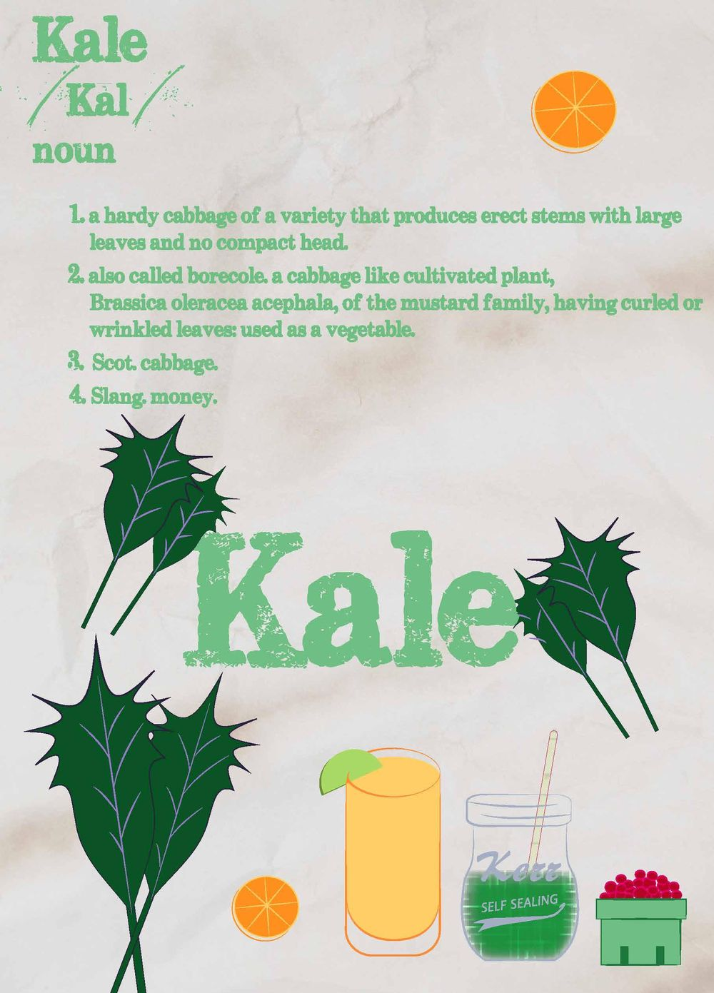 """""""oh Kale, YEAH!' - image 2 - student project"""