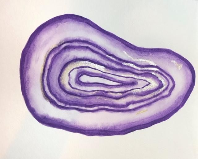 Green and purple agates - image 2 - student project