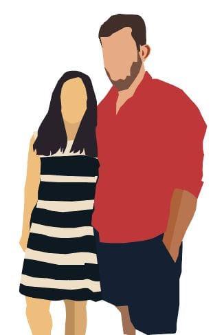 custom portrait in Illustrator - image 1 - student project