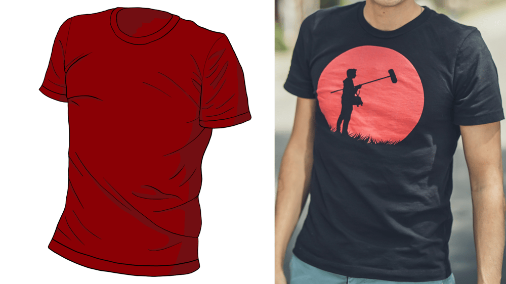 T-shirt practice - image 1 - student project